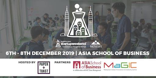 Techstars Startup Weekend Kuala Lumpur