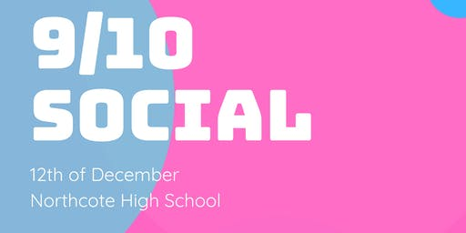 Year 9/10 Social Dance