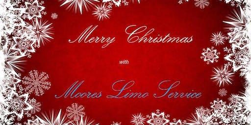 Moores Limo Service - Midland/Odessa Christmas Lights Tour - McKinney Park