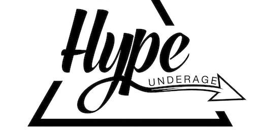 HYPE UNDERAGE: TRAFFIC LIGHT XMAS PARTY U18