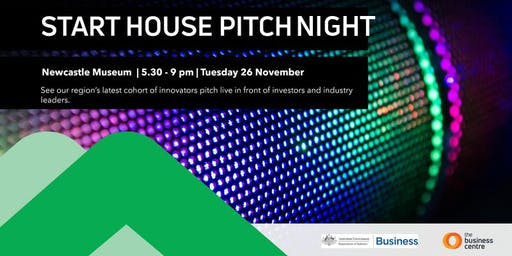 Start House Accelerator Pitch Night - Newcastle