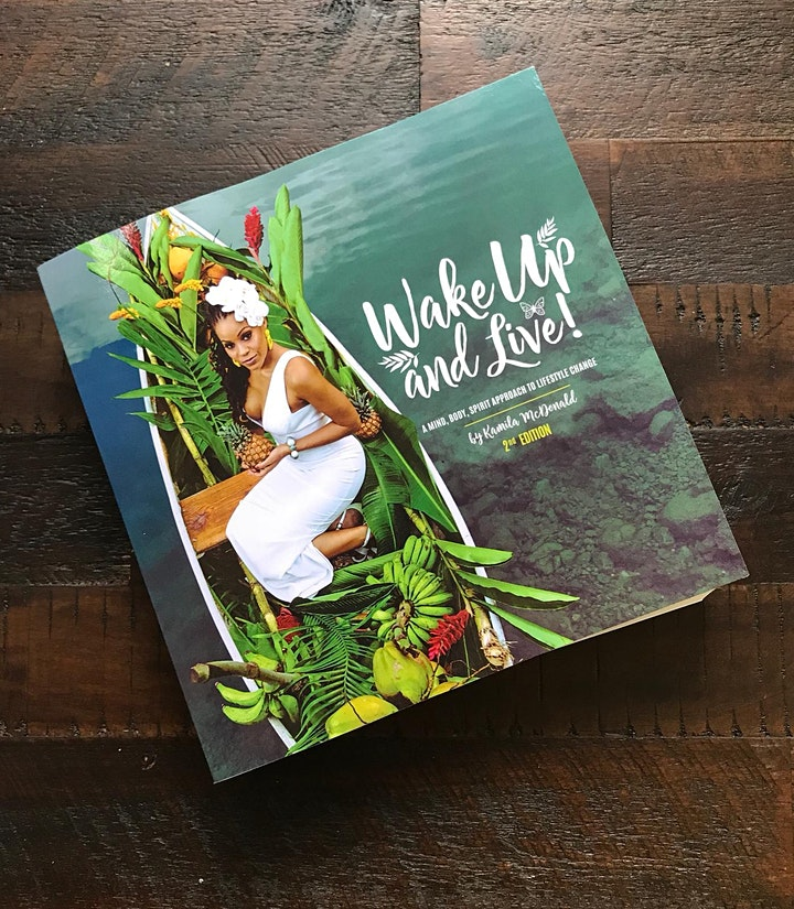 Wake Up & Live Book Signing & Wellness Conversation with Kamila Mcdonald image