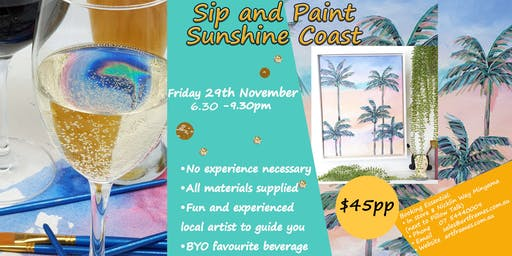 Sip and Paint Minyama Sunshine Coast