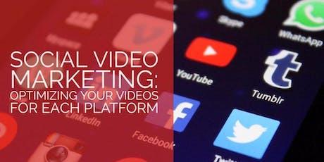 Social Media Marketing & Video Marketing AI (Seminar + Workshop) tickets