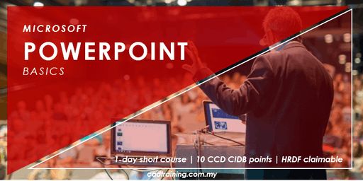 Microsoft PowerPoint Basics | 1-day Short Course | 10 CCD CIDB points
