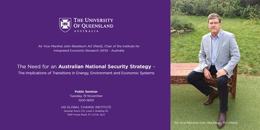 The Need for an Australian National Security Strategy