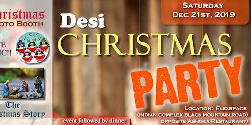 Desi Christmas Party