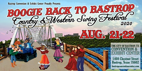 Boogie Back to Bastrop - Country & Western Swing Festival 2020 tickets