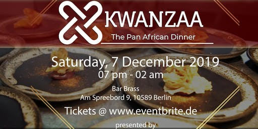 Kwanzaa - The Pan African Dinner
