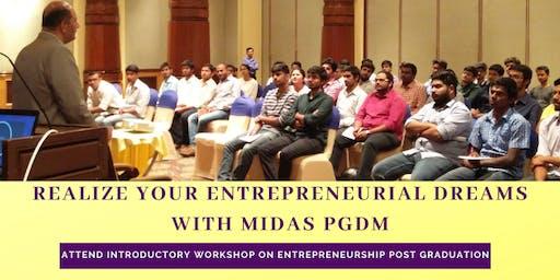 ENTREPRENEURS ARE MADE, NOT BORN -  Entrepreneurship Workshop - Pune