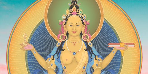 December  - Day Empowerment - Buddha Prajnaparamita Blessing Empowerment