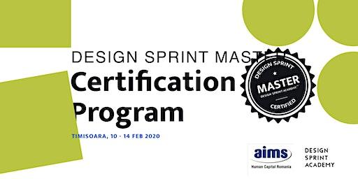 Design Sprint Master Certification Program - Timisoara