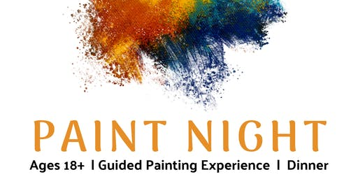 18+ PAINT NIGHT: AN EVENING OF RELAXATION & CREATIVITY