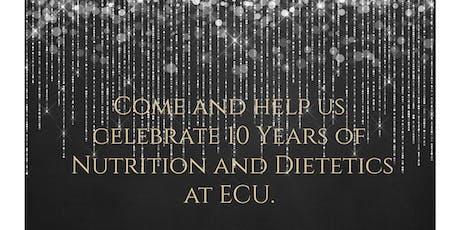 Nutrition and Dietetics 10 Year Anniversary tickets