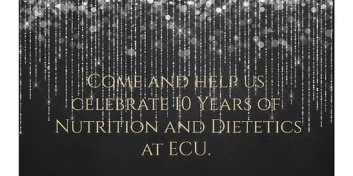 Nutrition and Dietetics 10 Year Anniversary