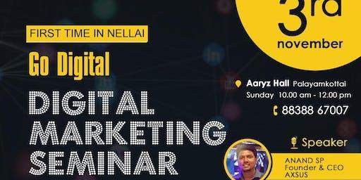 Go Digital - Digital marketing Seminar