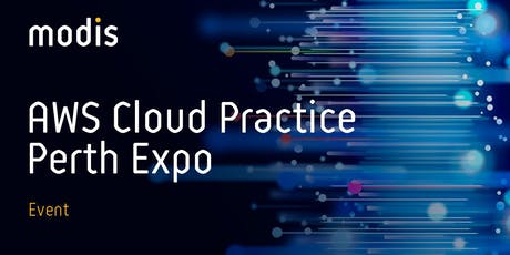 Modis AWS Cloud Practice Perth Expo tickets