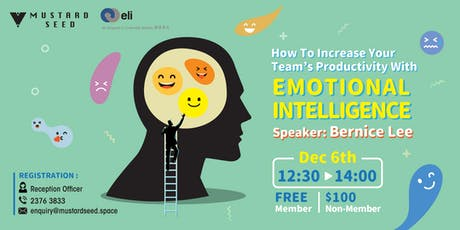 How to Increase Your Team's Productivity with Emotional Intelligence tickets