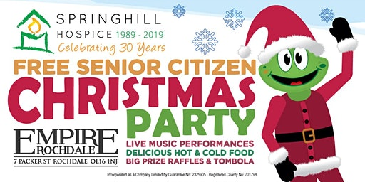 Empire's Free Springhill Hospice Senior Citizen Christmas Party