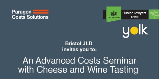 Advanced Costs Seminar with Wine and Cheese