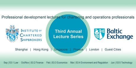 Baltic/ICS Lunchtime Lectures - Singapore, 27 Nov 2019 - Introduction to FFA tickets