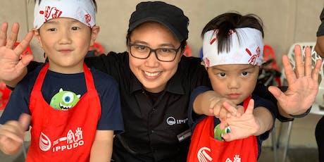 IPPUDO Child Kitchen - Ramen & Gyoza Making Class tickets