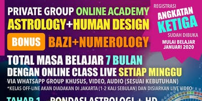 Kelas Astrology + Human Design