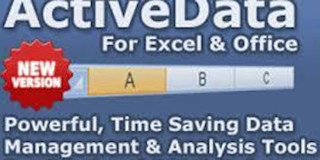 ACTIVEDATA FOR EXCEL (E-AUDIT) biglietti