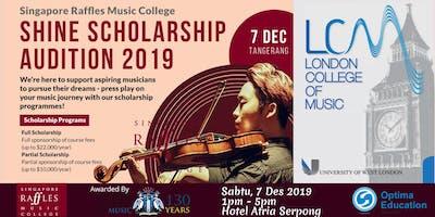 SRMC Shine Scholarship Audition 2019