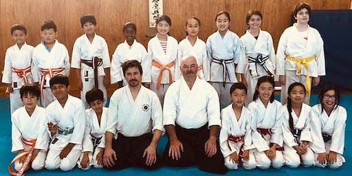 FREE kids aikido class
