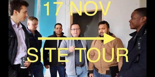 Development Site Tour - Sunday 17th November
