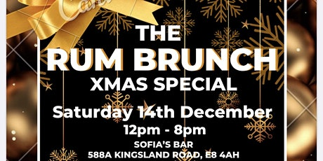 THE RUM BRUNCH XMAS SPECIAL tickets
