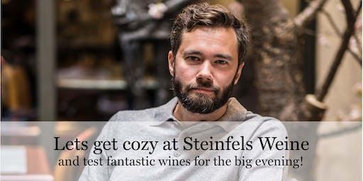 Meet Charles at Steinfels Weine