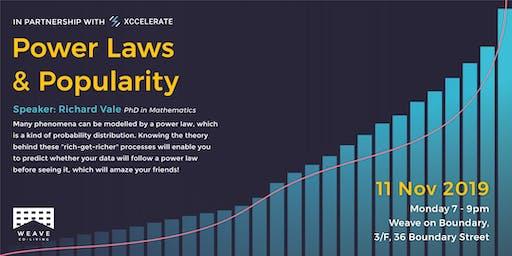 Weave Workshop: Power Laws & Popularity