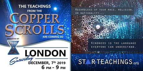 Teachings from the Copper Scrolls are Coming to London! With David Lonebear tickets