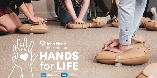 Longford Killoe GAA Clonee - Hands for Life
