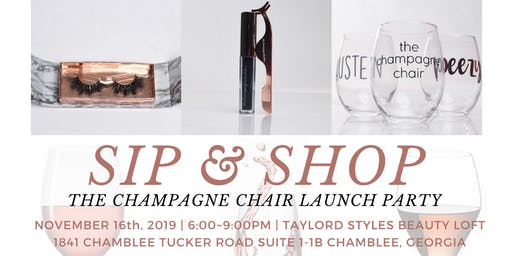 The Champagne Chair Launch Party
