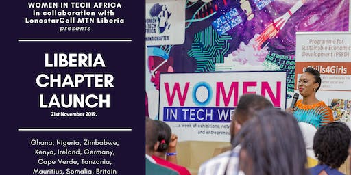 WOMEN IN TECH AFRICA, LIBERIA CHAPTER LAUNCH