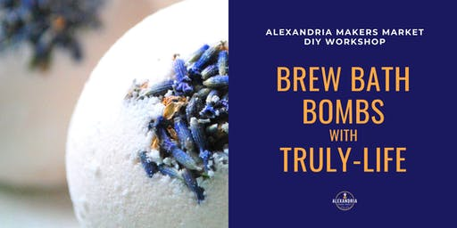 Brew Bath Bombs with Truly Life at Alexandria Makers Market