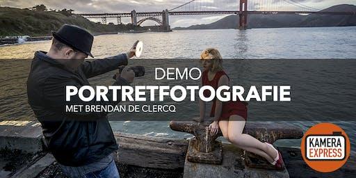 Demo portretfotografie met Brendan de Clercq