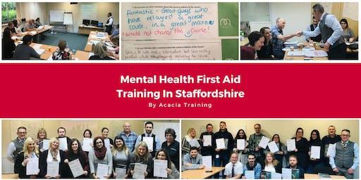 Mental Health First Aid Training - Staffordshire, UK (Adult)