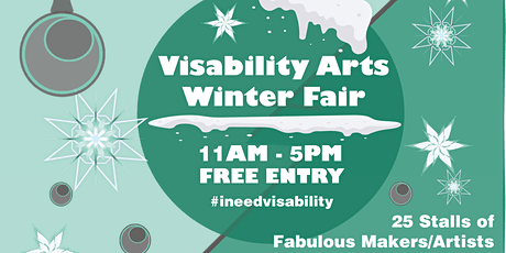 Visability Arts Winter fair (Christmas Craft Fair) tickets