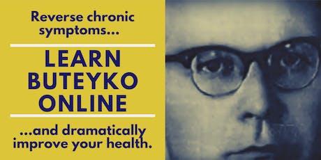 Beginner's Workshop  with Learn Buteyko Online Mon-Fri  Nov/Dec UK Time tickets