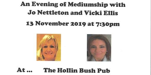 Mediumship Demonstration with Vicki Ellis and Jo Nettleton
