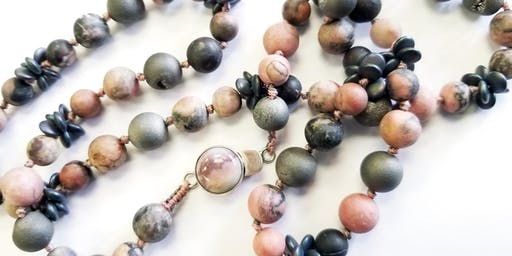 Knotting Between Beads - Jewelry Making