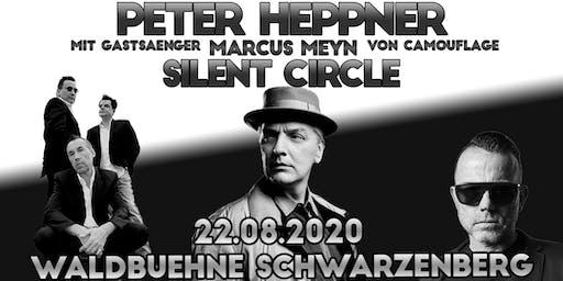 PETER HEPPNER mit Gastsänger MARCUS MEYN (von Camouflage) & SILENT CIRCLE