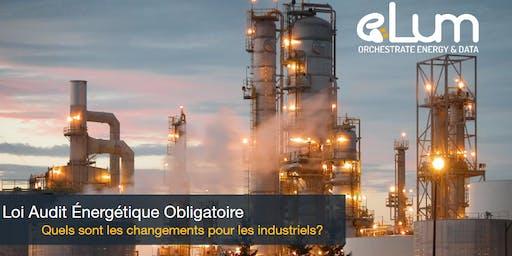Loi Audit énergétique obligatoire, quel changement pour les industriels ?