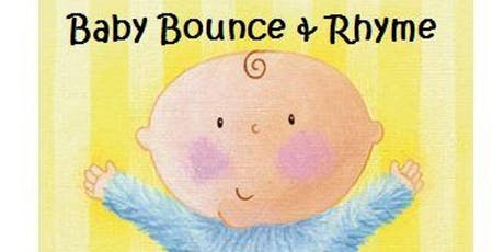Gloucester Library- Baby Bounce and Rhyme tickets