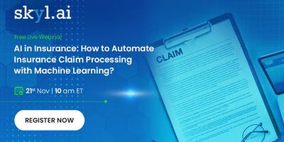 How to Automate Insurance Claim Processing with Machine Learning?