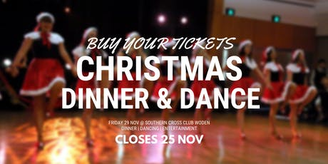Christmas Dinner Dance [Non-Stop Social Dancing Event] tickets